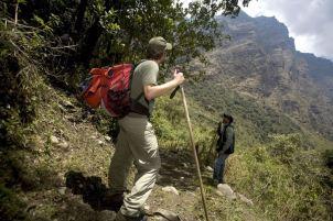 Deporte de aventura. El desarrollo de turismo sostenible en las áreas protegidas ha impulsado la formalización de los servicios que se ofrecen en estos lugares. Por ejemplo, se desarrollan actividades como parapente, kayak, catamarán, trekking, entre otras. Foto: Andina.
