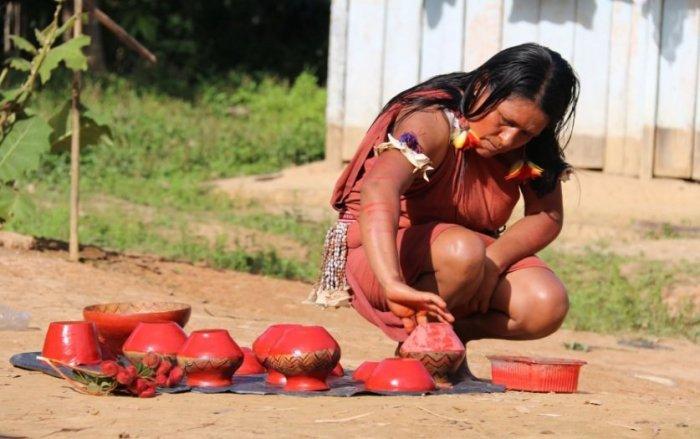 Cerámica hechas por mujeres awajún (Foto: Andina)