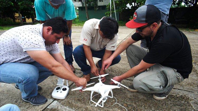 Taller_drones_Reserva Tambopata_3