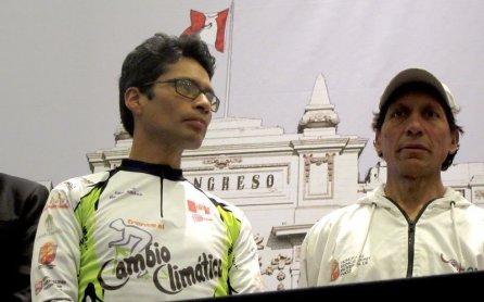 Ciclistas de los Andes del centro del Perú llevaron un mensaje esperanzador frente al cambio climático.