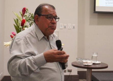 Walter Huamán, gerente de Recursos Naturales del Gobierno Regional de Lima. Foto: Katherine Bless / SPDA
