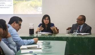 Giovanna Ramos, especialista legal de la Dirección de Gestión Sostenible del Patrimonio Forestal - Serfor.