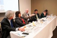 Panel de especialistas del evento.