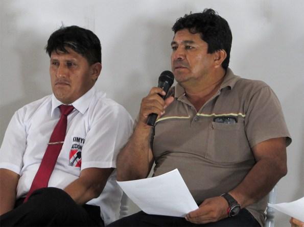 Kimylsung Delgado (Acción Popular) y Rengifo Khan (PPC)