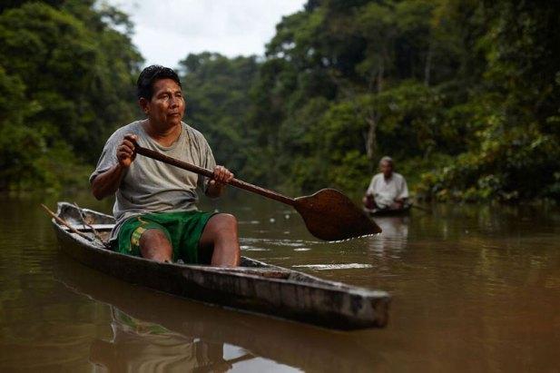 Felipe Ríos (hijo), de la comunidad de Sucusari. Foto: Wilfredo Martinez / One Planet