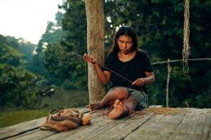 Gloria Ríos, de la comunidad de Sucusari. Foto: Wilfredo Martinez / One Planet