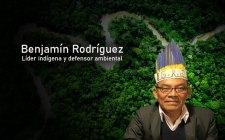 Benjamín Rodriguez, líder y defensor ambiental.