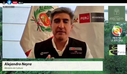Alejandro Neyra, ministro de Cultura