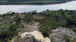El lunes 19 de marzo se realizó un operativo en los sectores de Cachuela, El Pilar, Chorrillos y Túpac, en el río Madre de Dios. Foto: FEMA