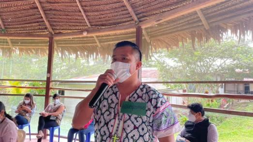Líderes y lideresas indígenas participaron de taller informativo sobre la importancia de la vacunación en las comunidades indígena. Foto: Orpio
