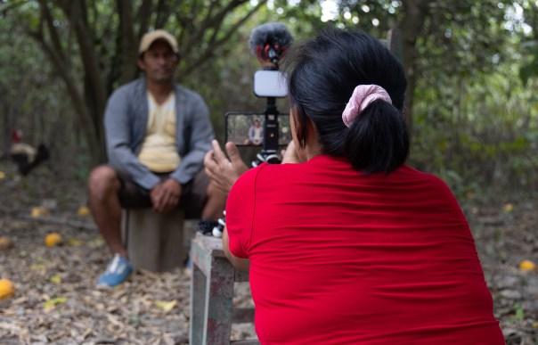 Luz Britave Kuakuibehue Tije, comunicadora de la comunidad nativa El Pilar. Foto: Lucía Flores / SPDA