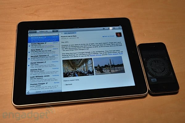 l'iPad comparat amb l'iPhone
