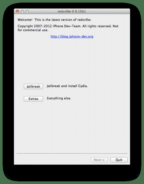 94774 640 Redsn0w se actualiza con opciones de restauración a iOS 5.1.1