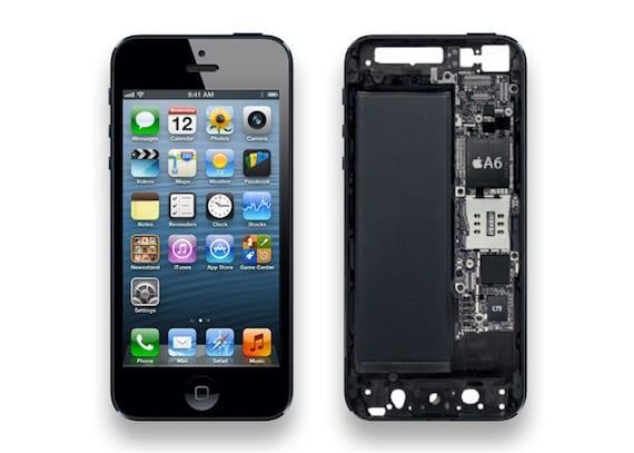 interior iPhone5 Apple reduce los pedidos de componentes del iPhone 5
