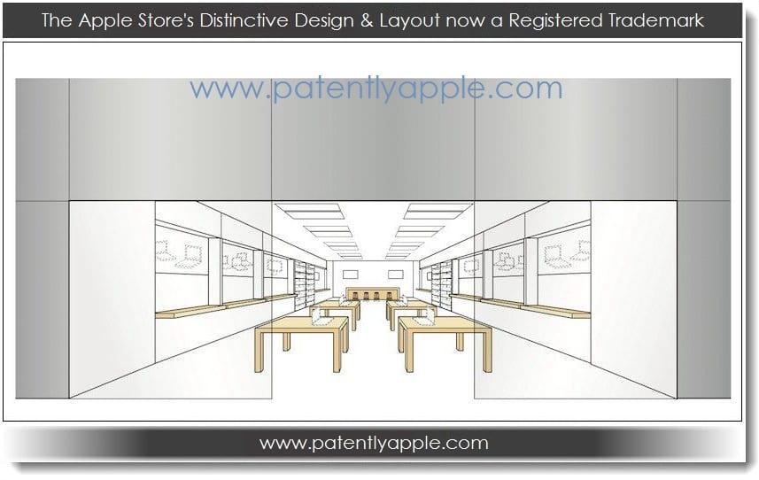 patente Apple patenta el diseño de sus tiendas