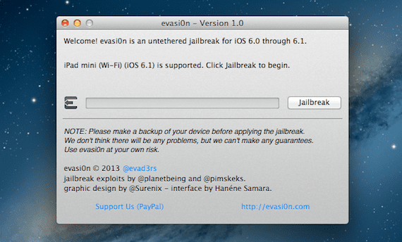 Evasi0n 11 Tutorial: jailbreak iOS 6.1 con Evasi0n (Windows y Mac)