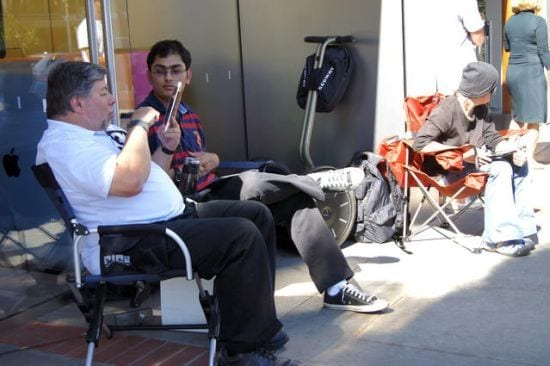 steve wozniak Wozniak considera que Apple se está quedando atrás