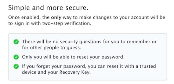 Verificacion AppleID 2 Apple lanza una nueva verificación en dos pasos para Apple ID e iCloud