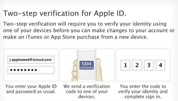 Verificacion AppleID Apple lanza una nueva verificación en dos pasos para Apple ID e iCloud