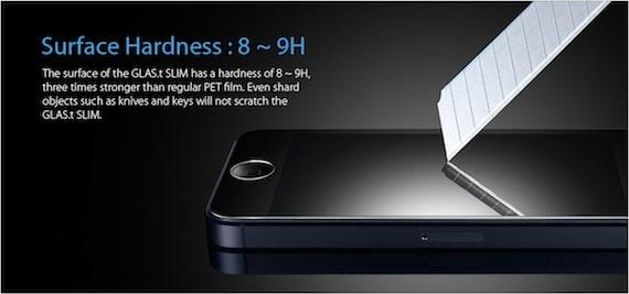 glas.t slim GLAS.t Slim, un protector de pantalla para iPhone 5 que apenas notarás