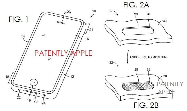 apple patente agua Las ideas de Apple para proteger nuestros dispositivos del agua