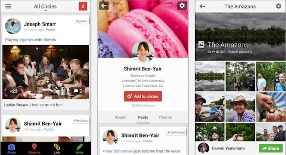 google plus Google+ para iOS se actualiza a la versión 4.4.0 con muchas novedades
