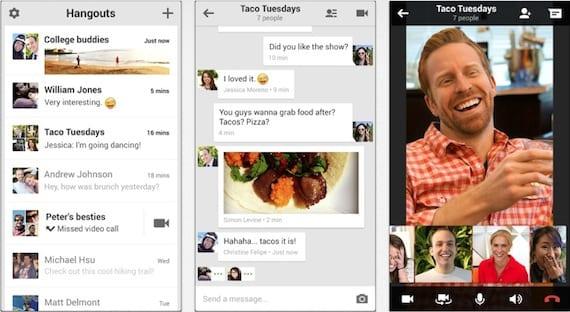 hangouts Google Hangouts ya disponible en la App Store