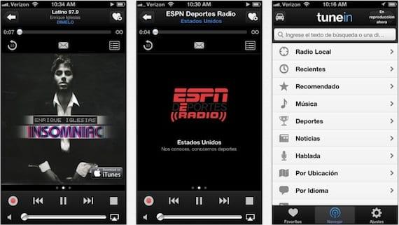 tunein radio TuneIn Radio se actualiza a la versión 3.6 con muchas novedades