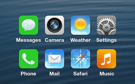 iconos ios7 ¿Filtrada la primera captura de pantalla de iOS 7?