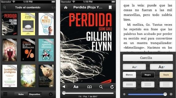 kindle ios La aplicación de Kindle para iOS se actualiza