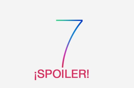 spoiler ios7 ¿Primeros detalles de iOS 7 revelados antes de tiempo?
