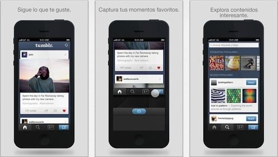 tumblr iphone Tumblr para iOS se actualiza solucionando un importante fallo de seguridad