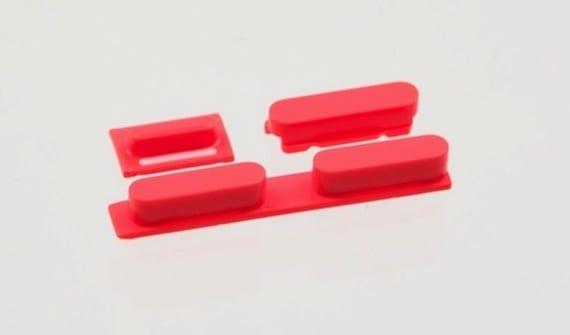 5c volumebuttons1 Aparecen fotografias de los botones del iPhone 5C