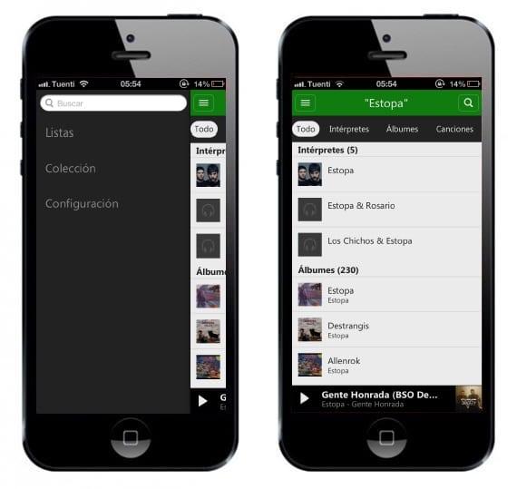 Xbox music2 Microsoft termina de lanzar su aplicación Xbox Music para iOS