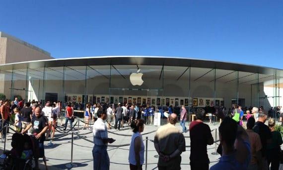apple store 1 Copiar Imágenes de la apertura de la Apple Store Stanford 2