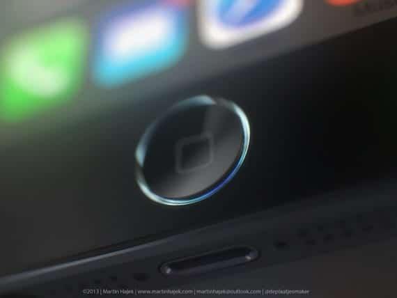 render 5s Render del iPhone 5S con sensor de huellas según la caja filtrada hace unos días