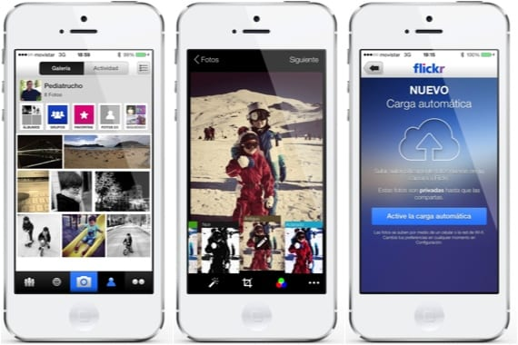 Flickr Alternativas gratuitas a la aplicación Fotos de iOS 7