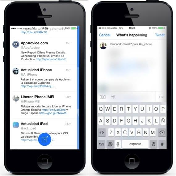 Twwet7 1 Tweet7, un cliente de Twitter al más puro estilo iOS 7