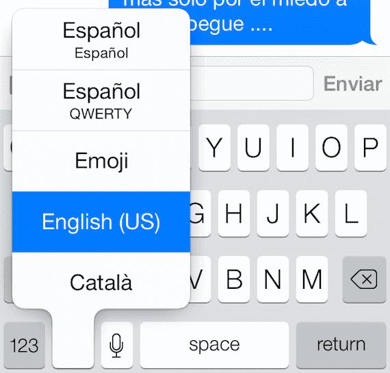 idioma teclado Top 10 de los gestos más útiles en iOS
