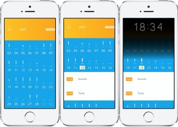 Peek 1 Peek, un calendario diferente para tu iPhone