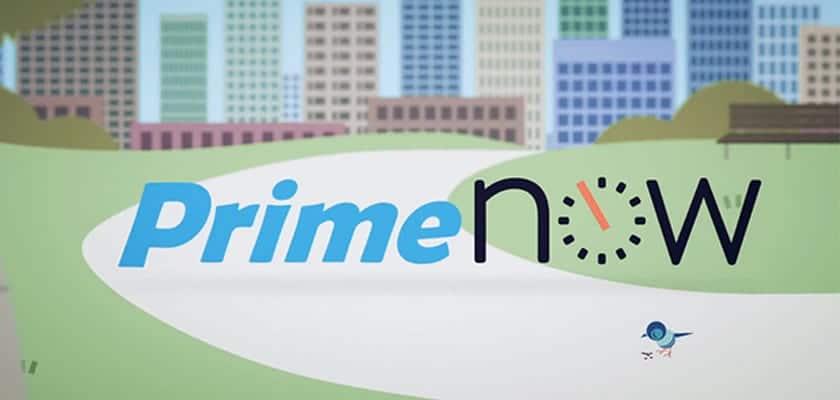 Amazon Prime Now llega a España, entregas en 1h para Madrid