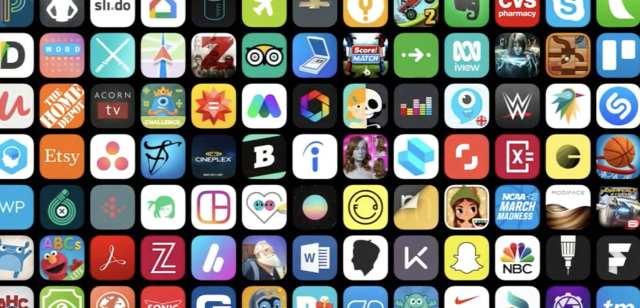 Aplicaciones aplicación store