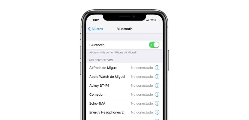 Cómo solucionar los problemas del Bluetooth en iOS 12