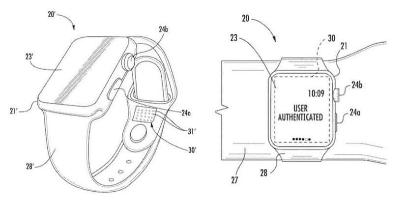 ¿Identificación biométrica en la correa del Apple Watch?