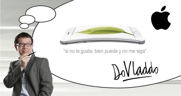 El caricaturista Vladdo será la imagen del nuevo iphone 6 para Colombia.