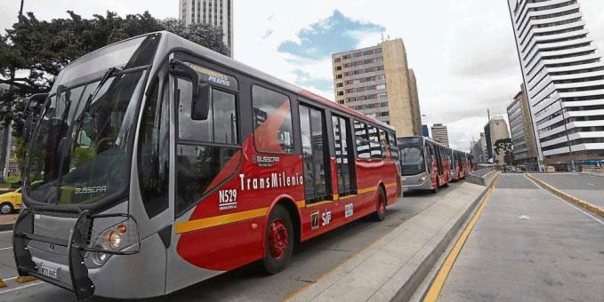 Otro de los buses con el accesorio ya instalado.