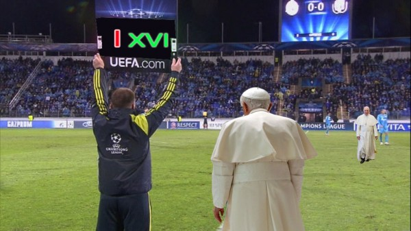 Sale Francisco, entra Benedicto