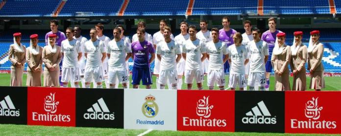 real madrid fly emirates