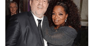 Oprah Winfrey y Harvey Weinstein