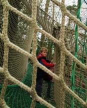 Adventure climbing at Aldenham Country Park
